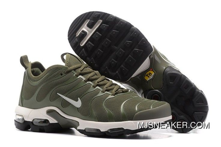 size 40 a53d7 acca5 Nike Air Max Plus TN Dark Green White Black New Release