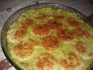 Sformato di broccoli romaneschi e Galbanino