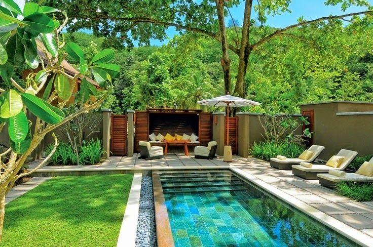 Décoration autour de la piscine | piscine | Pinterest | La piscine ...