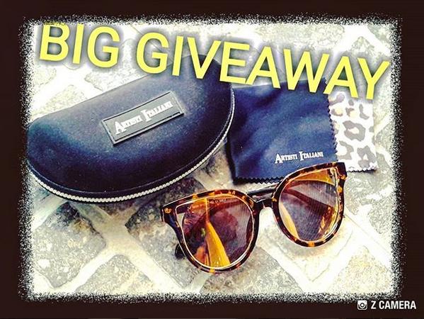 78a7c52fa0 Διαγωνισμός Γιώτα Παπαδημακοπούλου με δώρο ζευγάρι γυαλιά ηλίου Artisti  Italiani