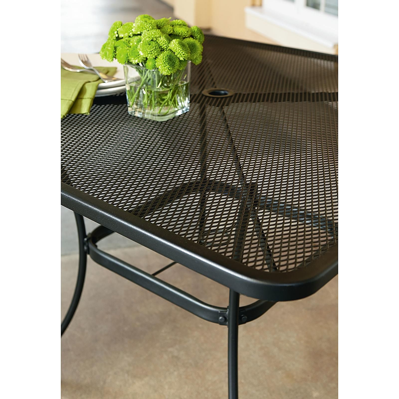 Woodard commercial grade 40 square patio dining table limited availability outdoor living