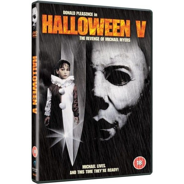 Halloween 5 The Revenge Of Michael Myers DVD (€7,91) ❤ liked on Polyvore featuring electronics