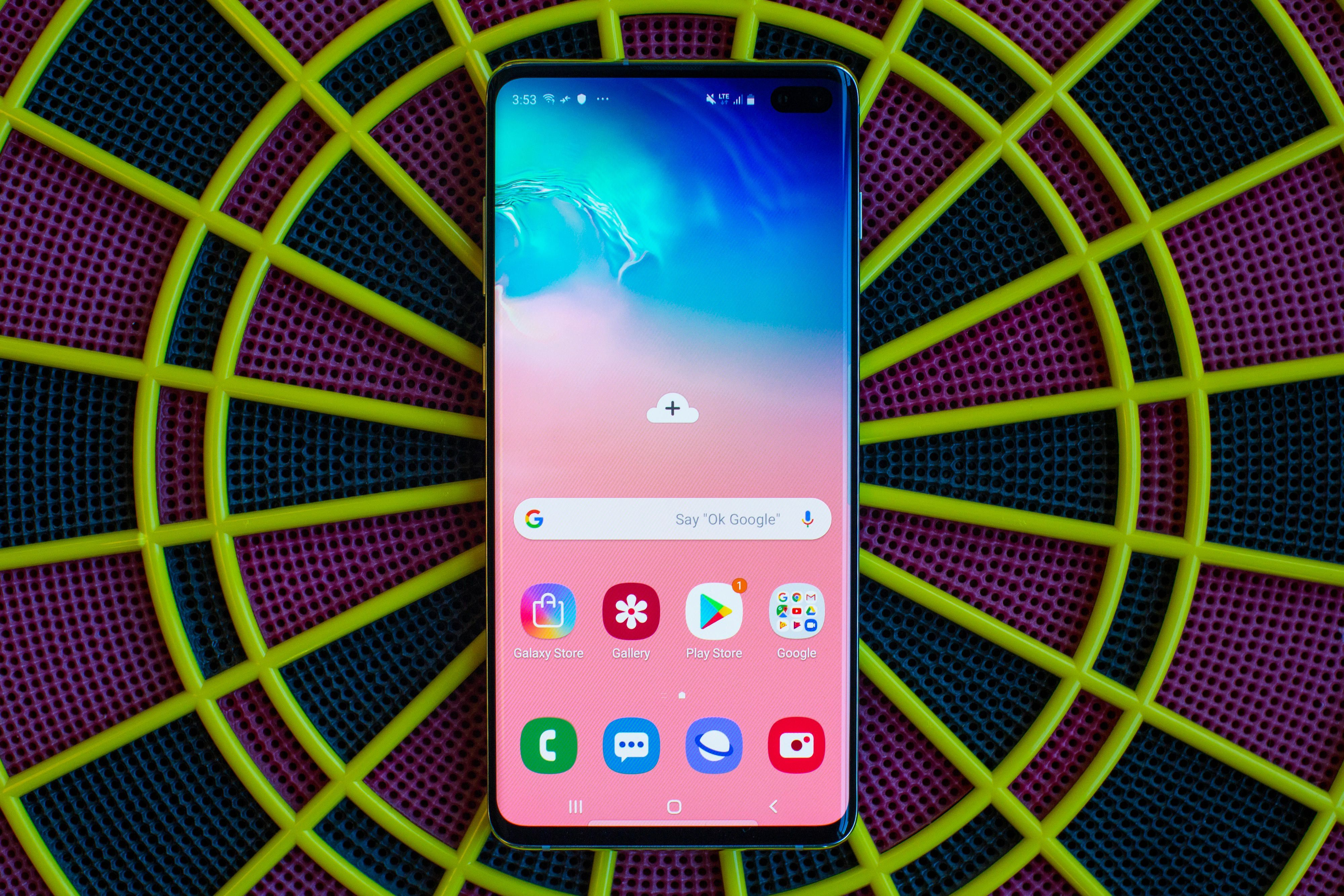 Galaxy S10 Plus Ongoing Review What S Good And Bad Today Samsung Phone Samsung Galaxy Home screen samsung galaxy s10 plus