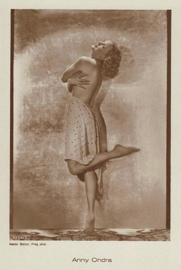 European Film Star Postcards: Anny Ondra