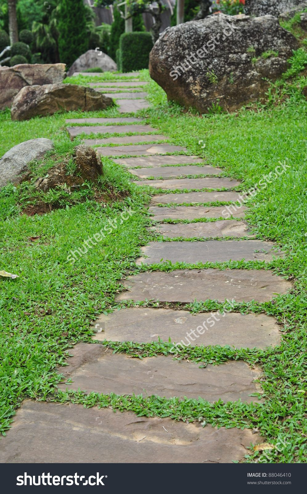 Pathways amp steppers sisson landscapes - Stone Path Google Search Path Pinterest Gardens Photos And Pictures