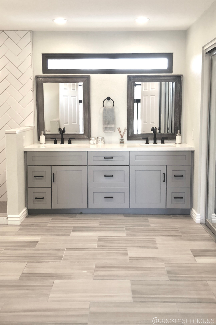 Another Look At This Dreamy Vanity With Natural Light Pouring In
