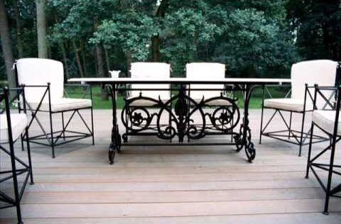 Wrought Iron Garden Furniture, White Wrought Iron Garden Furniture Uk