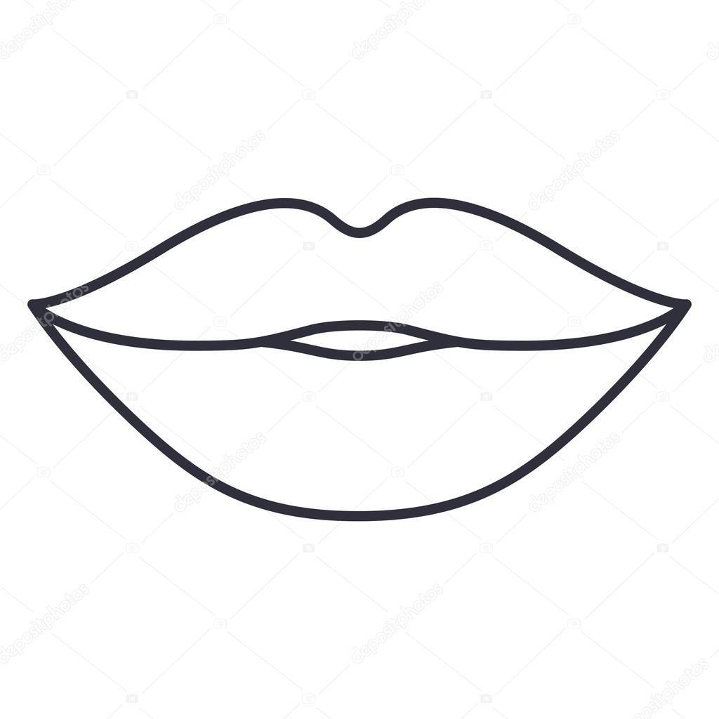 Labios E Design De Desenhos Animados Boca 2020 Boyama Sayfalari Mandala Desenler Boyama Sayfalari