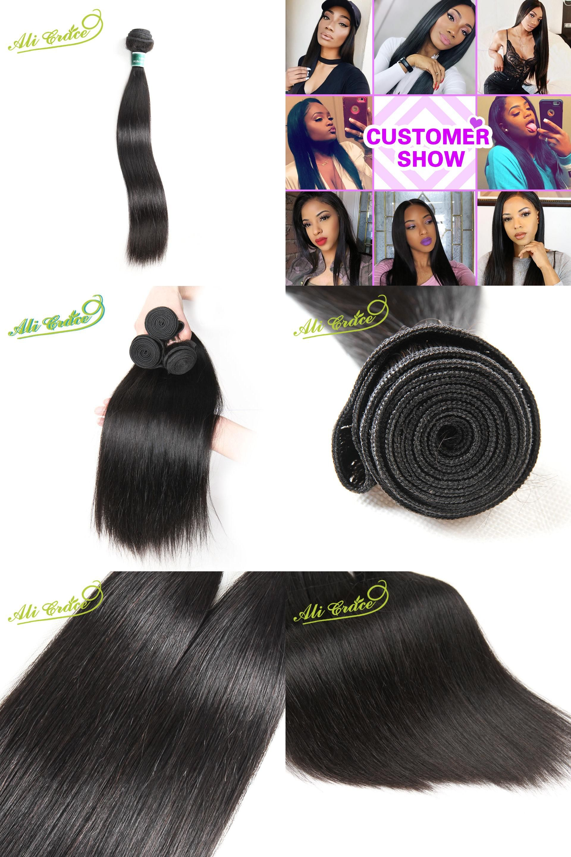 Visit To Buy Ali Grace Hair Malaysian Straight Hair Weave 1