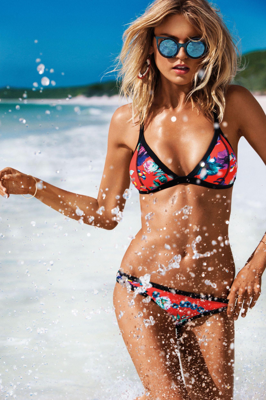 Abby beach bikini pool swim swimsuit think already