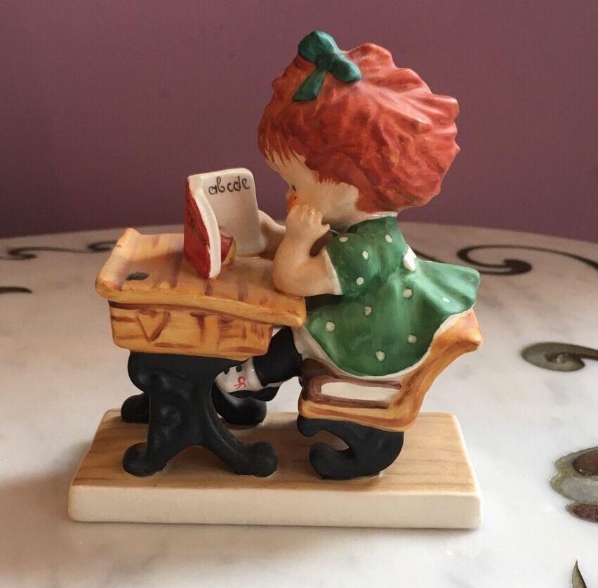 "Vintage ""Redhead"" figurine by Charlot Byj Hummel figurine statues Spellbound sculpture"