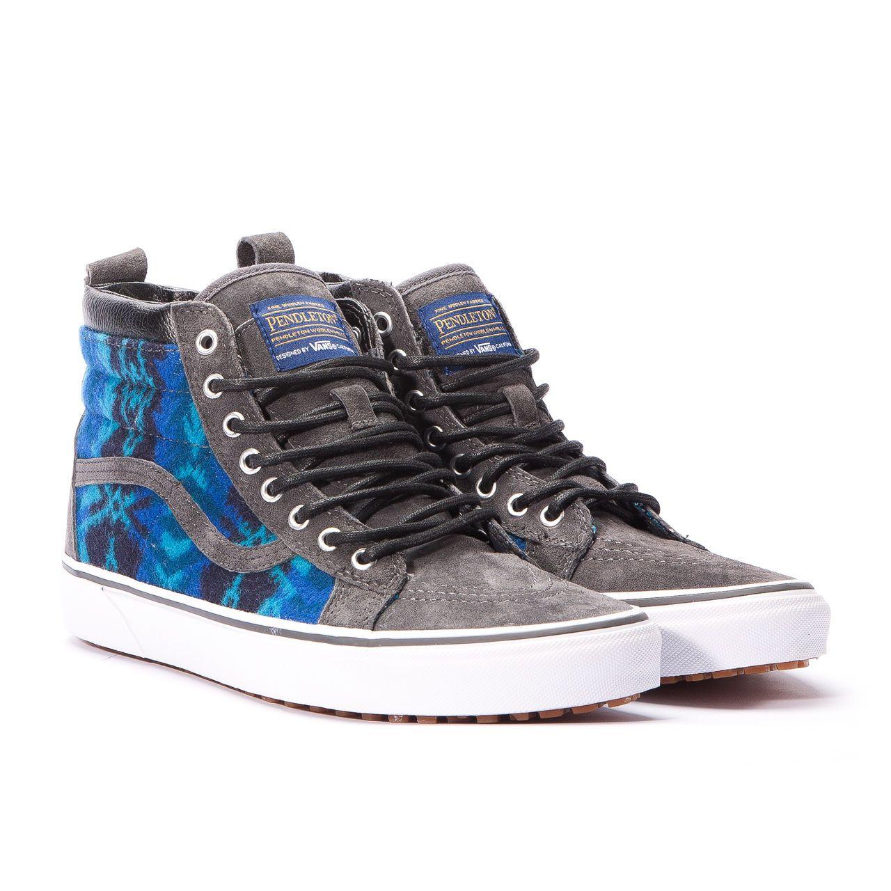 Vans x Pendleton Sk8-Hi MTE (Tribal / Asphalt) Sneaker Schuhe! in Kleidung & Accessoires, Herrenschuhe, Turnschuhe & Sneaker | eBay