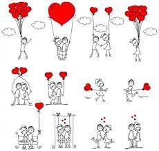 Pin De Karen Rosselyn En Imagens Dibujos De Amor Ilustracion Del Amor Dia De San Valentin