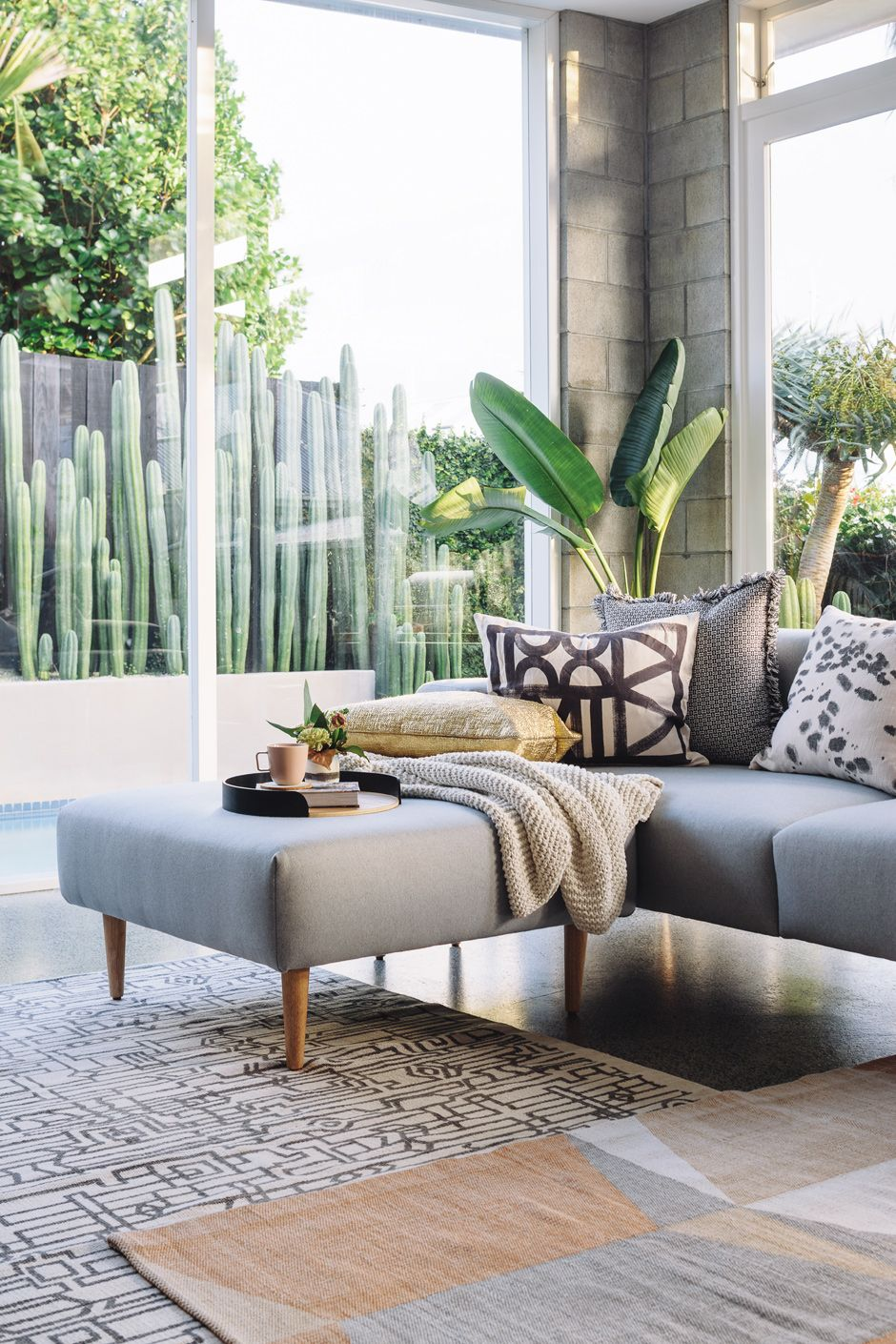 Palm springs inspired living spaces with citta h o u s e - Palm springs interior design style ...