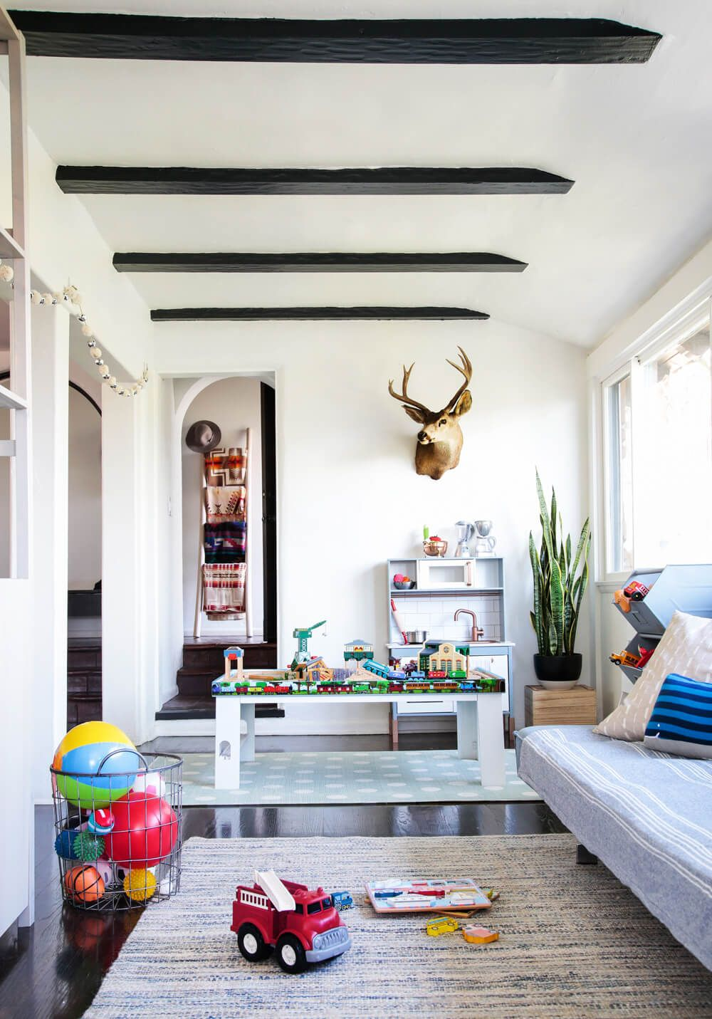 Kids Play Room Design: A Sophisticated Playroom + Get The Look