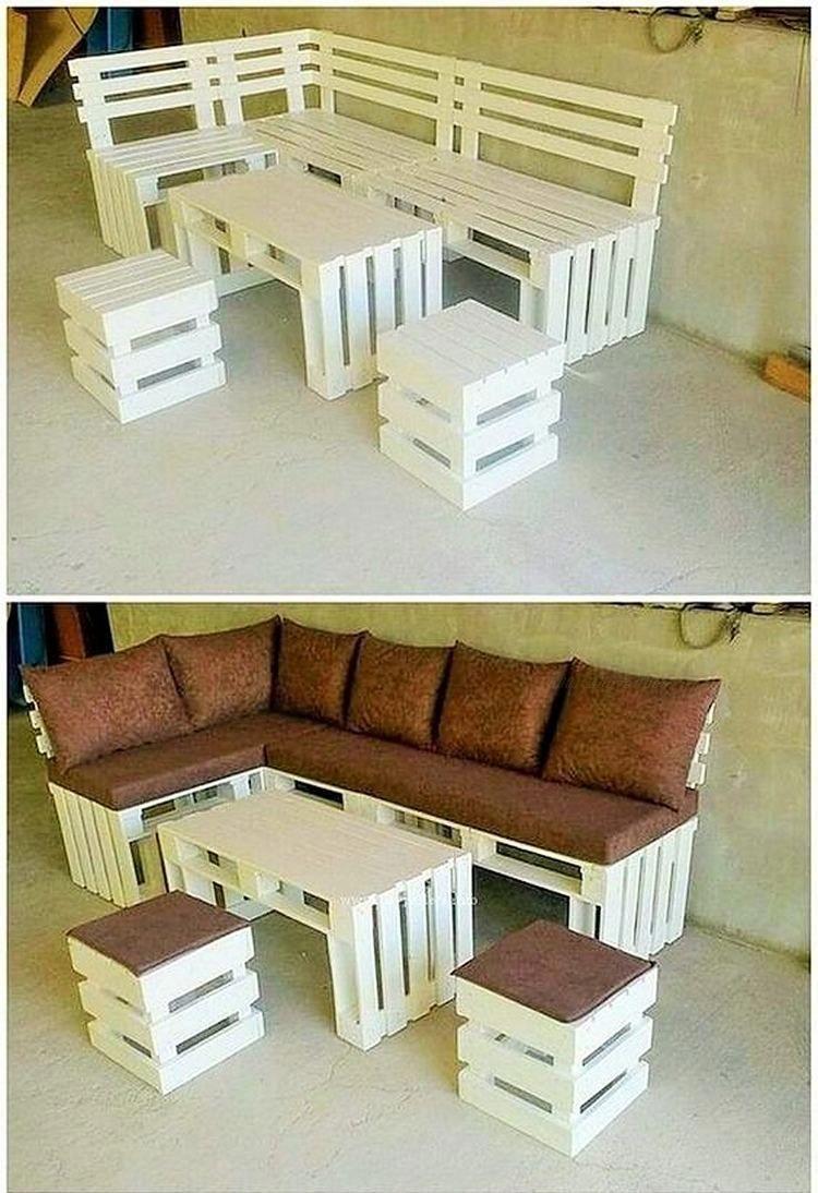 Muebles Hechos Con Material Reciclado