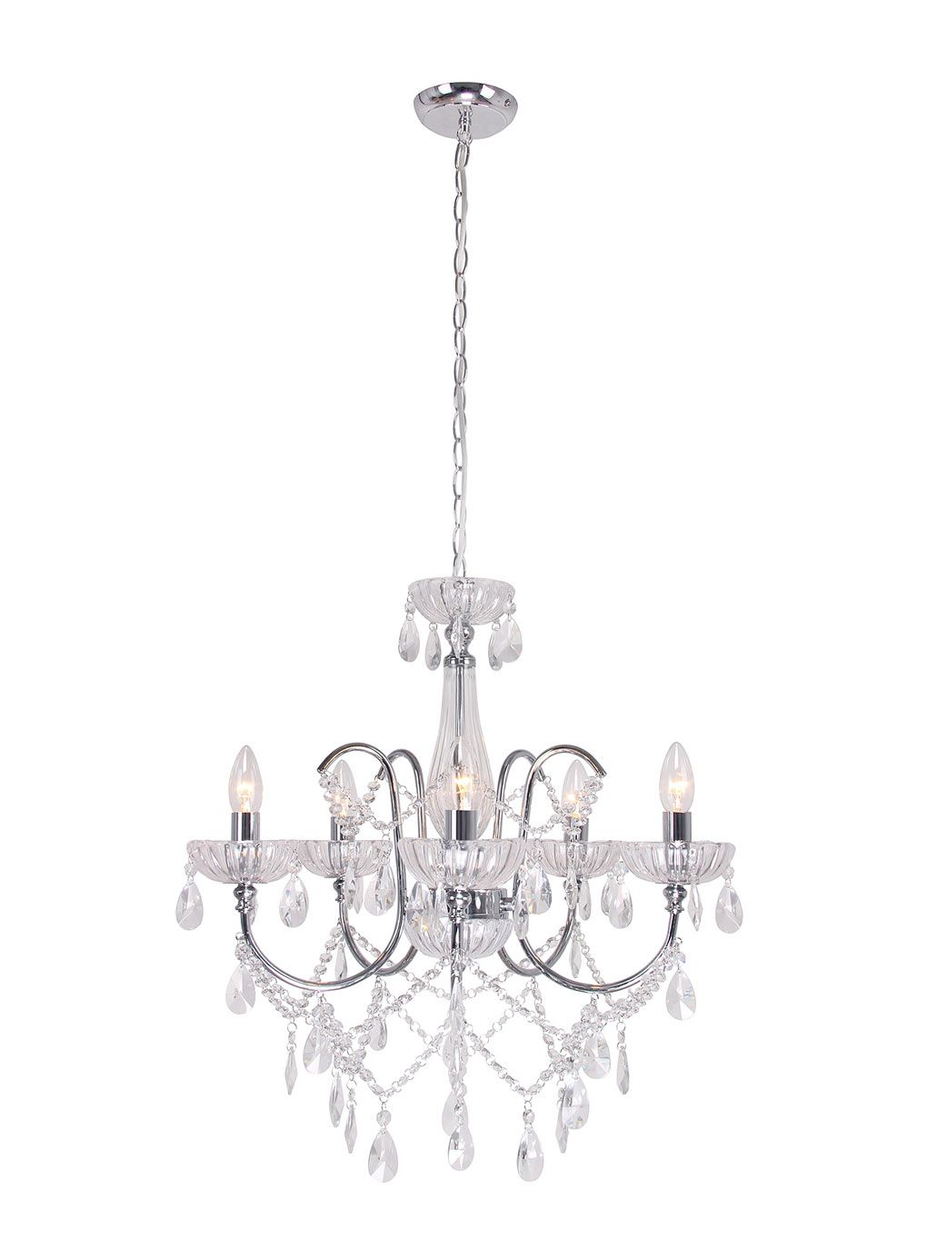 Bathroom Chandeliers Bhs edith chandelier - ceiling lights - home, lighting & furniture