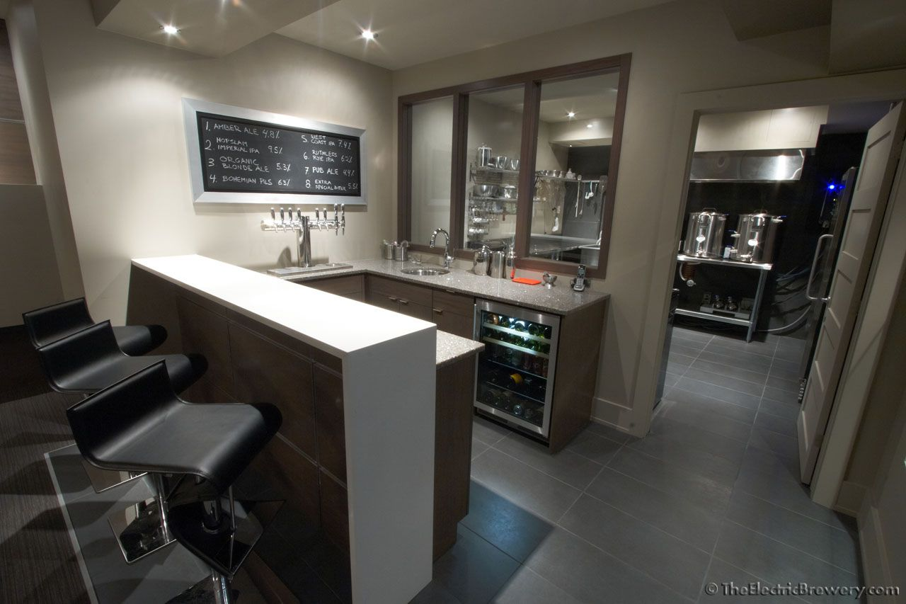Building A Brew Room | For Complete Construction Details On How We Got  There, Read