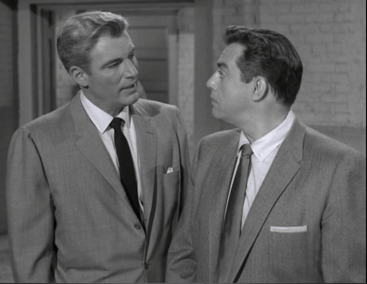 William Hopper With Raymond Burr In Perry Mason Season 1 Episode 4 The Case Of The Drowning Duck Perry Mason Perry Mason Tv Series Raymond Burr