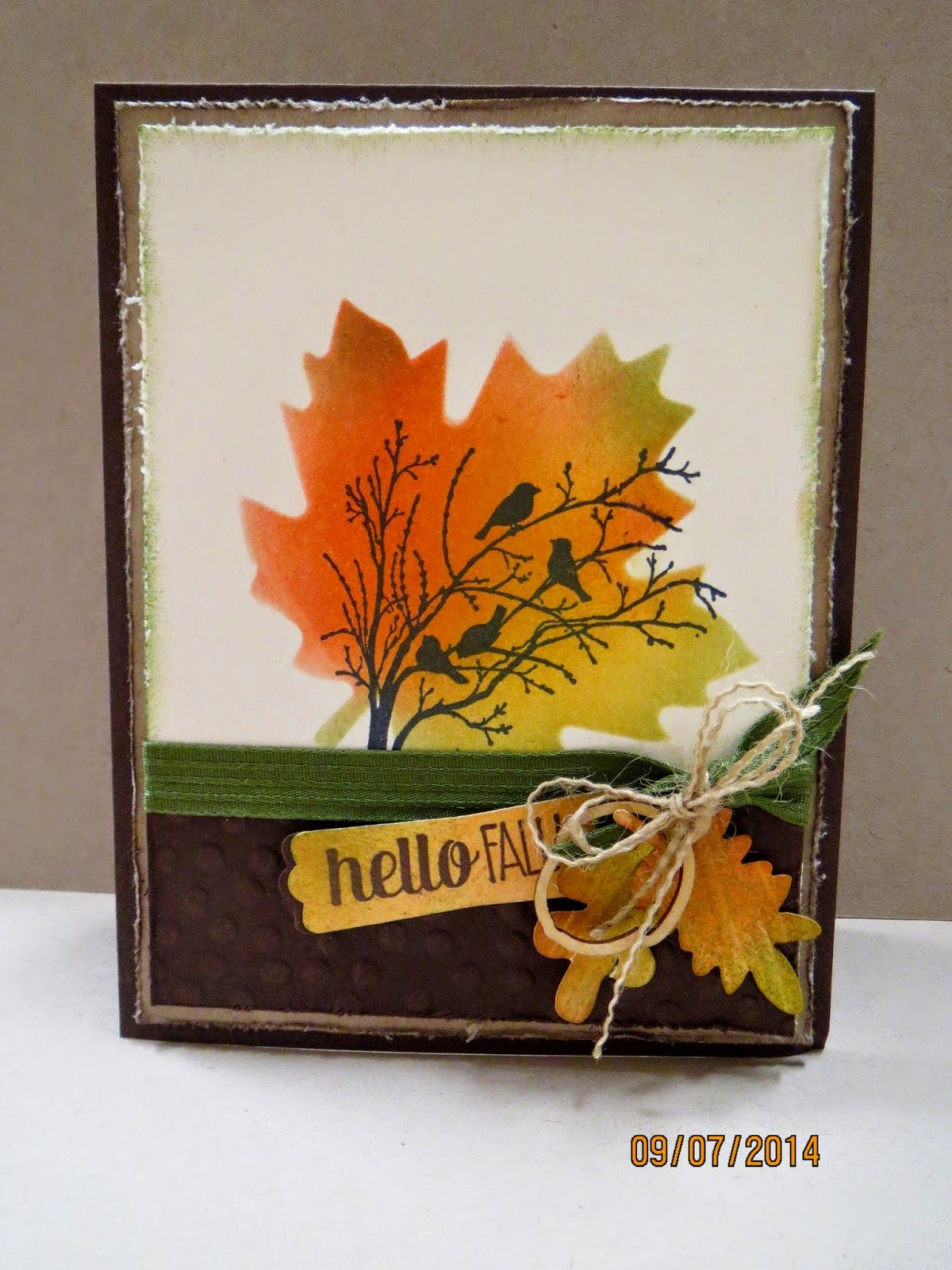Hello Fall and the Masking Technique #hellofall