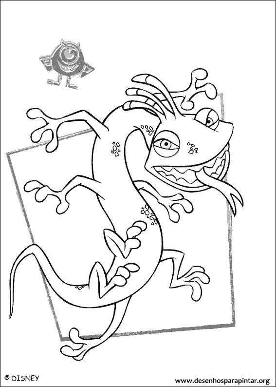 Pin Em Dibujo Monster