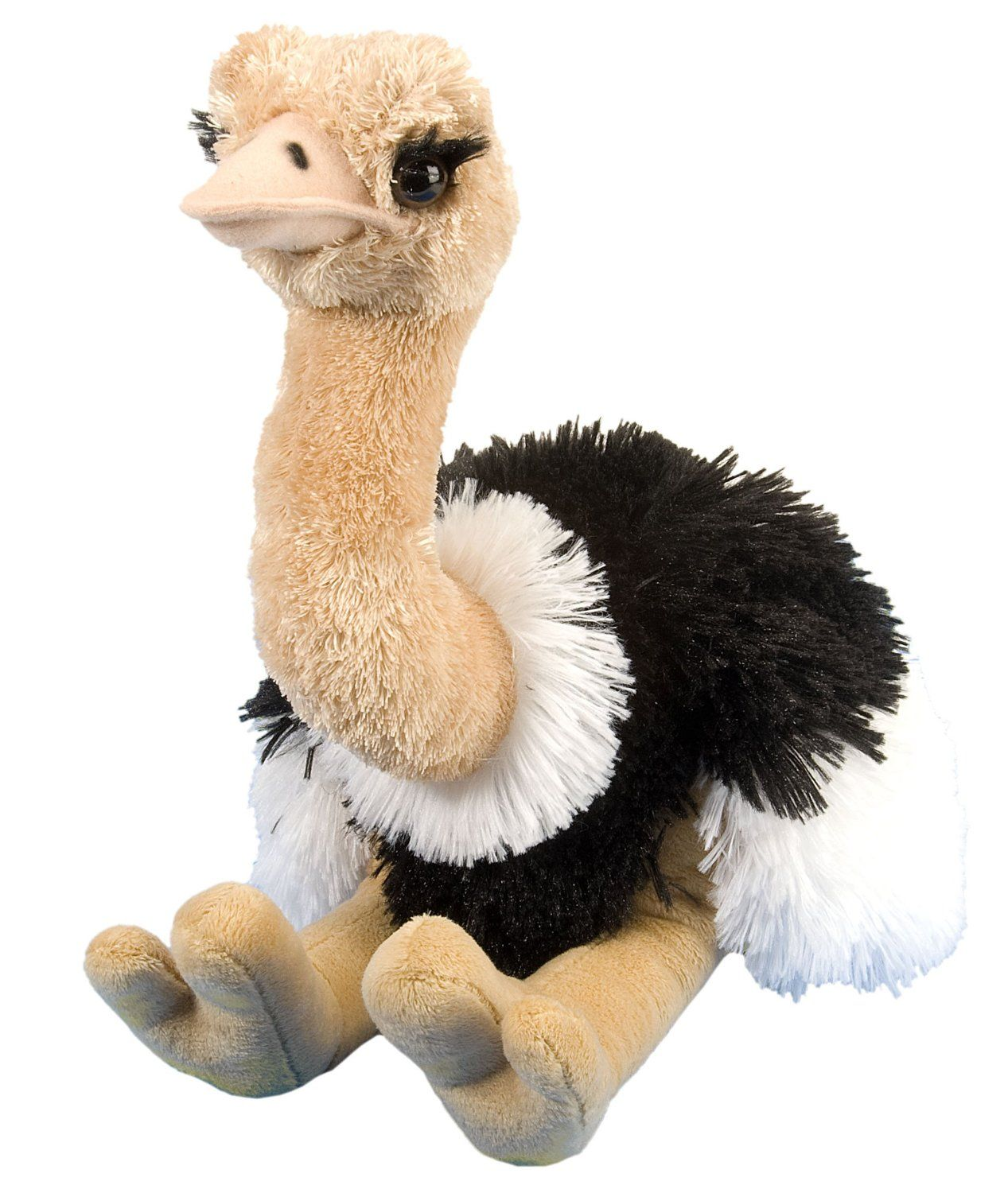 "Wild Republic Cuddlekin Ostrich 12"" Plush"