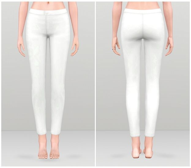 Basic pants for females by Rusty Nail - Sims 3 Downloads CC Caboodle ...