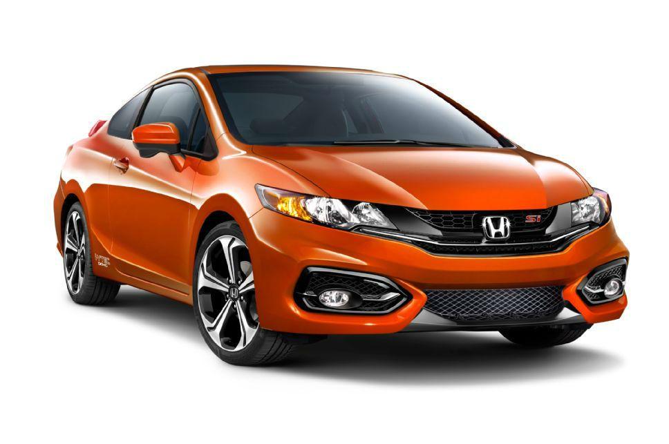 2014 Honda Civic SI Sedan Orange | Honda | Pinterest | 2014 honda ...