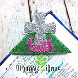 Faith Cross Corner Bookmark
