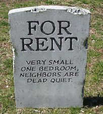 halloween for rent tombstone prop decoration