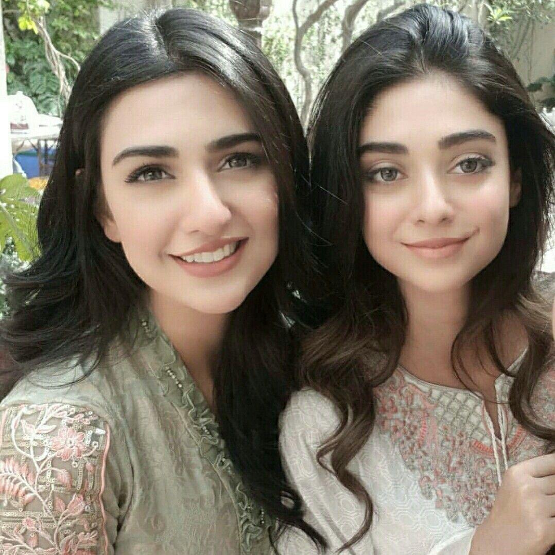 Sarah Khan and Noor khan Pakistani actress, Pakistani