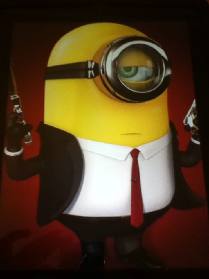 How Funny Is This Minion Spy Kitchen Aid Mixer Minions
