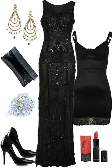 Charlie Brown Beaded Formal Dress Outfit Brand Image Dresses Fancy Dresses Great Gatsby Dresses