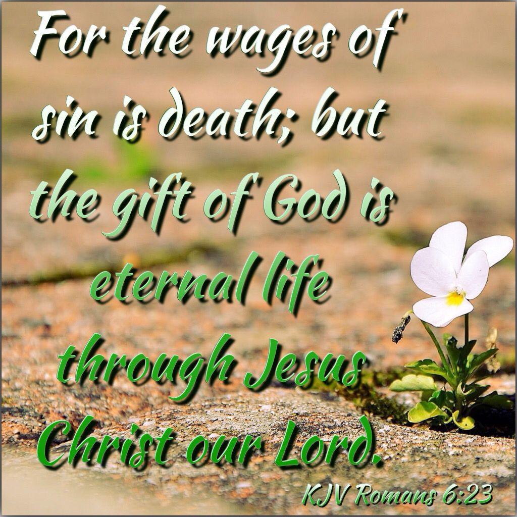 KJV Bible Verses - Romans 6:23