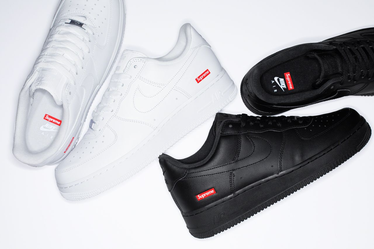 The Significance Behind The Supreme X Nike Air Force 1 Low Box Logo In 2020 Nike Air Nike Air Force Nike