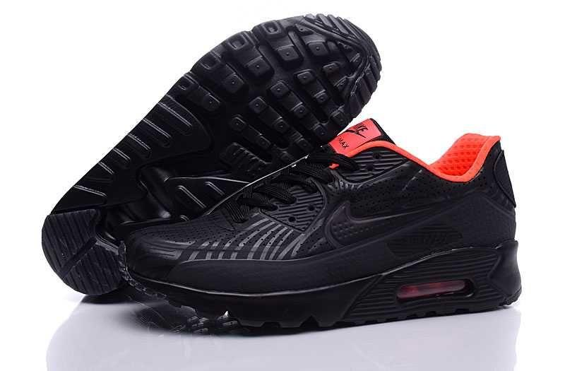 pretty nice ca7b6 634b2 Nike Air Max 90 Ultra Moire Men s Running Black Red 2017