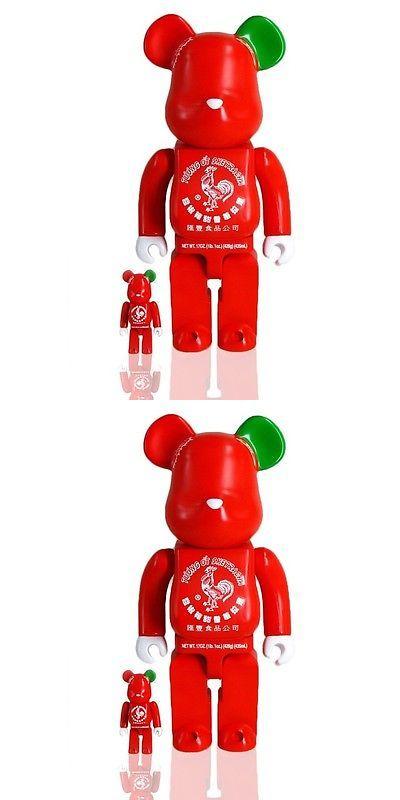 Designer and Urban Vinyl 158672: Bait X Medicom X Sriracha Sketracha 100% 400% Bearbrick Figure Set Red -> BUY IT NOW ONLY: $125 on eBay!