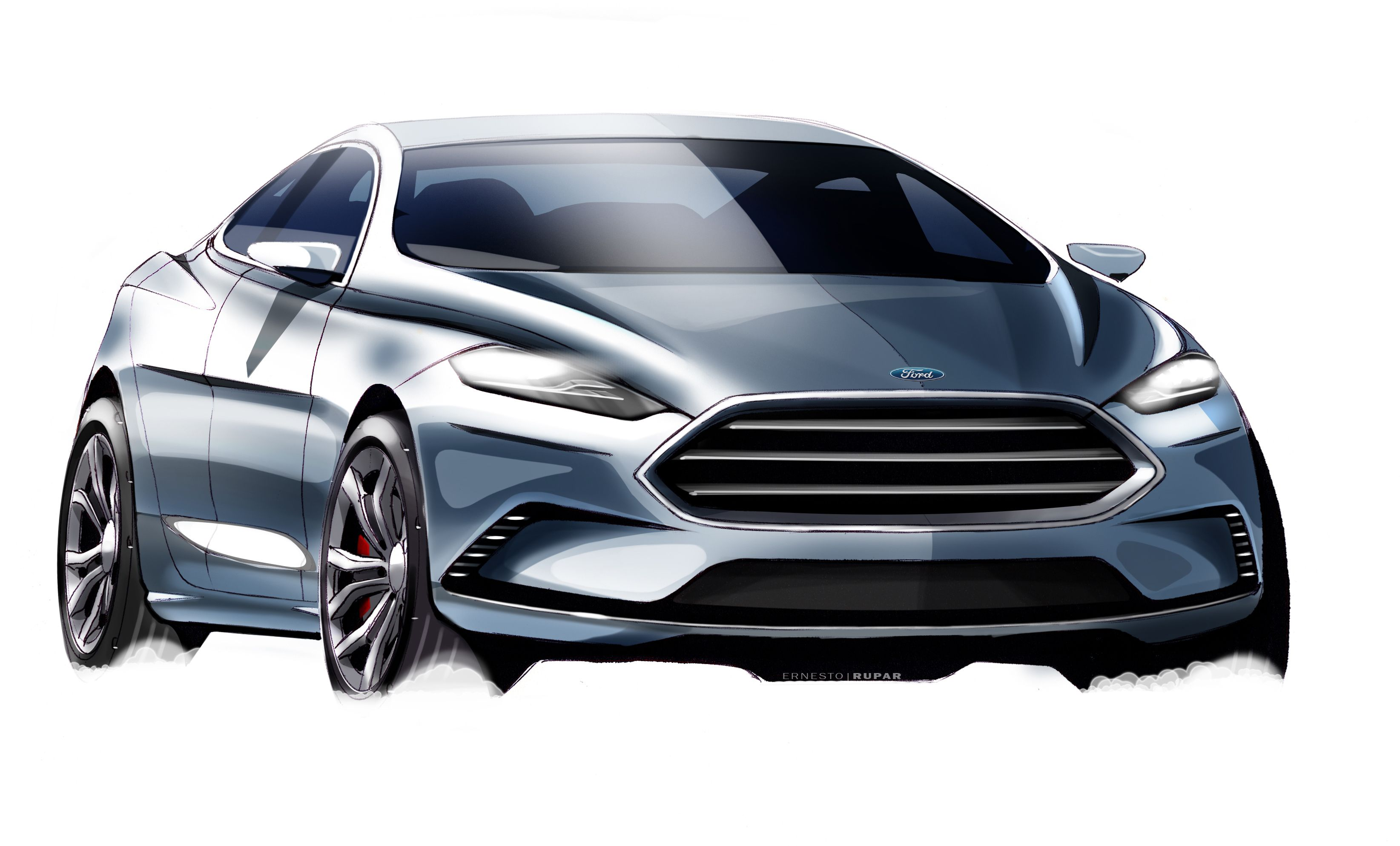 Exterior design manager for the all new ford mondeo from pre program start to