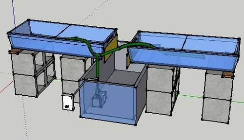 Simple Ebb And Flow Hydroponic System Hydroponics System Ebb And Flow Hydroponics Aquaponics