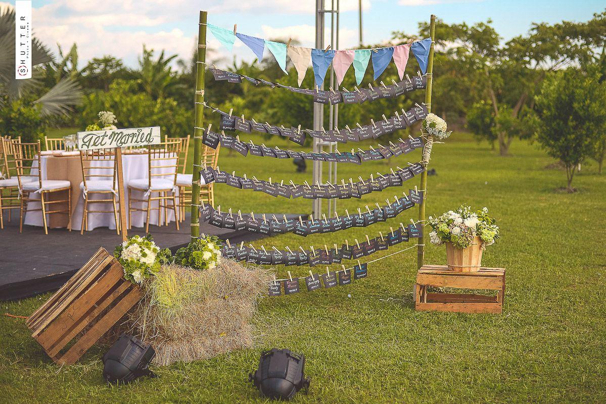 Bodas al aire libre y decoraci n de matrimonios campestres - Decoracion bodas civiles ...