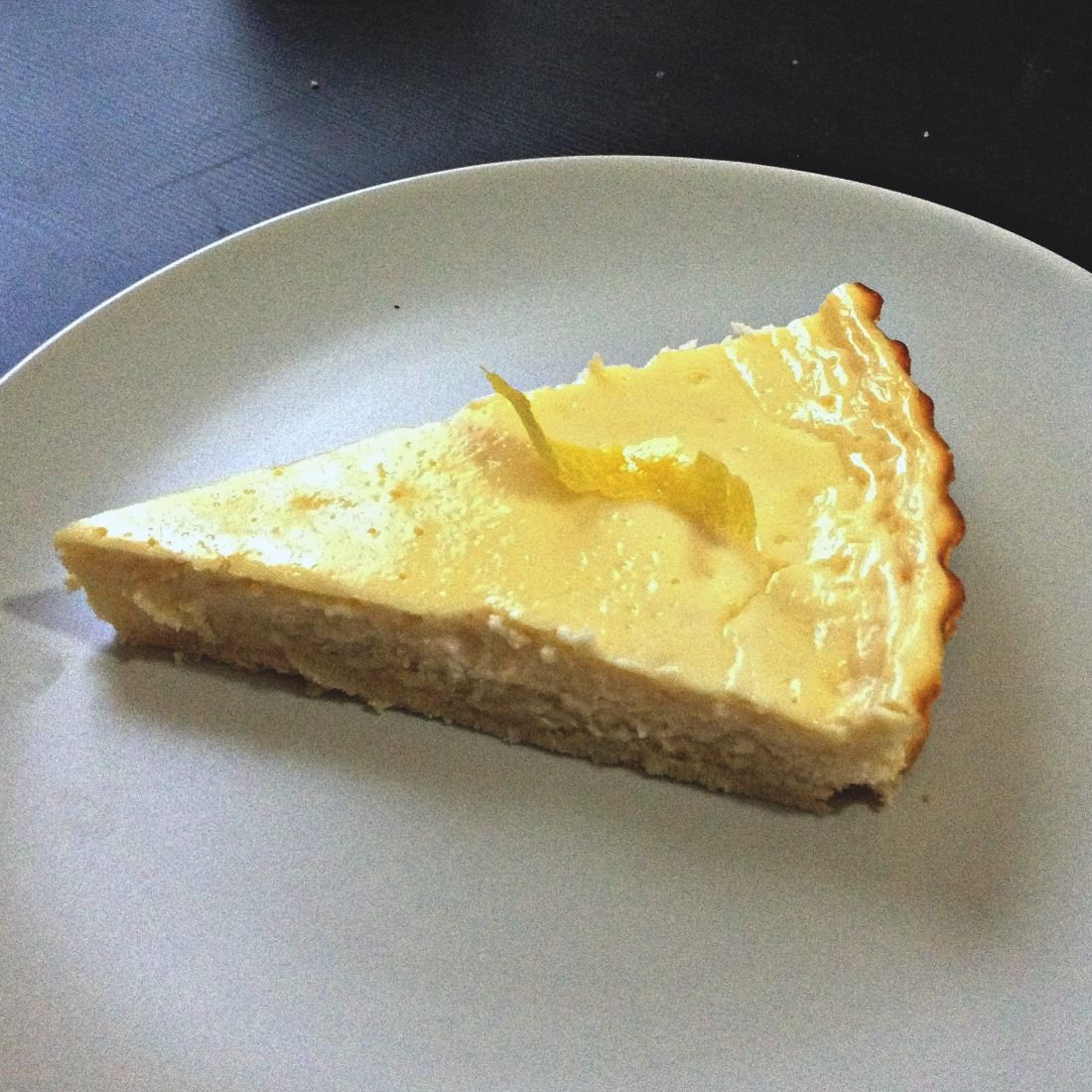 Brooke's Kitchen of Culinary Dreams: Low Carb Lemon Cheesecake Tart