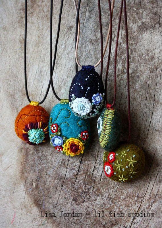 Photo of Embroidery Jewelry Inspiration – Nunn Design