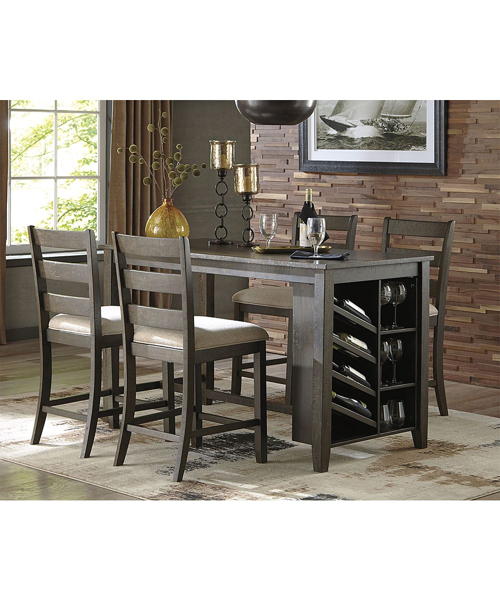 Signature Design By Ashley Light Brown Rokane Dining Table