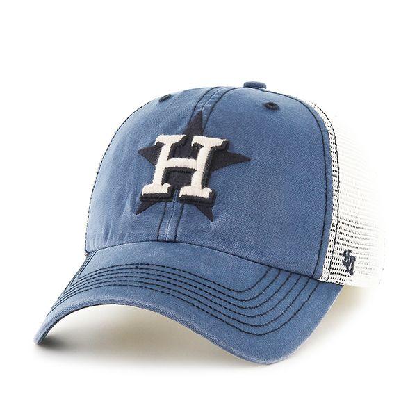 e55ea1c79ab7a Houston Astros Rockford Closer Dyer 47 Brand Stretch Fit Hat ...