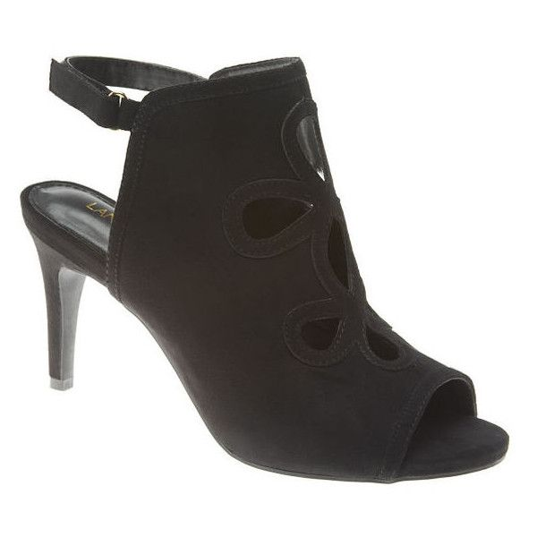 7e0f976b6 Lane Bryant Cut-out heel, Women's, Size: 12W, Black ($60) ❤ liked on  Polyvore featuring shoes, pumps, black, sexy pumps, wide width pumps, sexy  black pumps ...