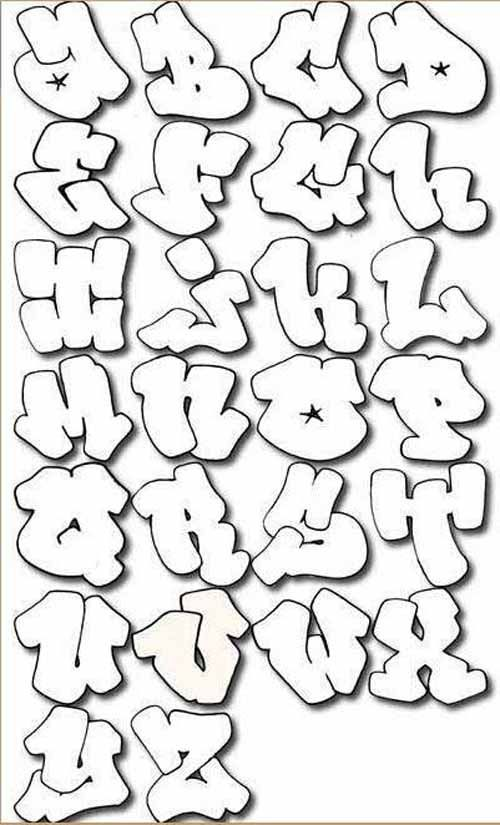 How To Draw Graffiti Letters A