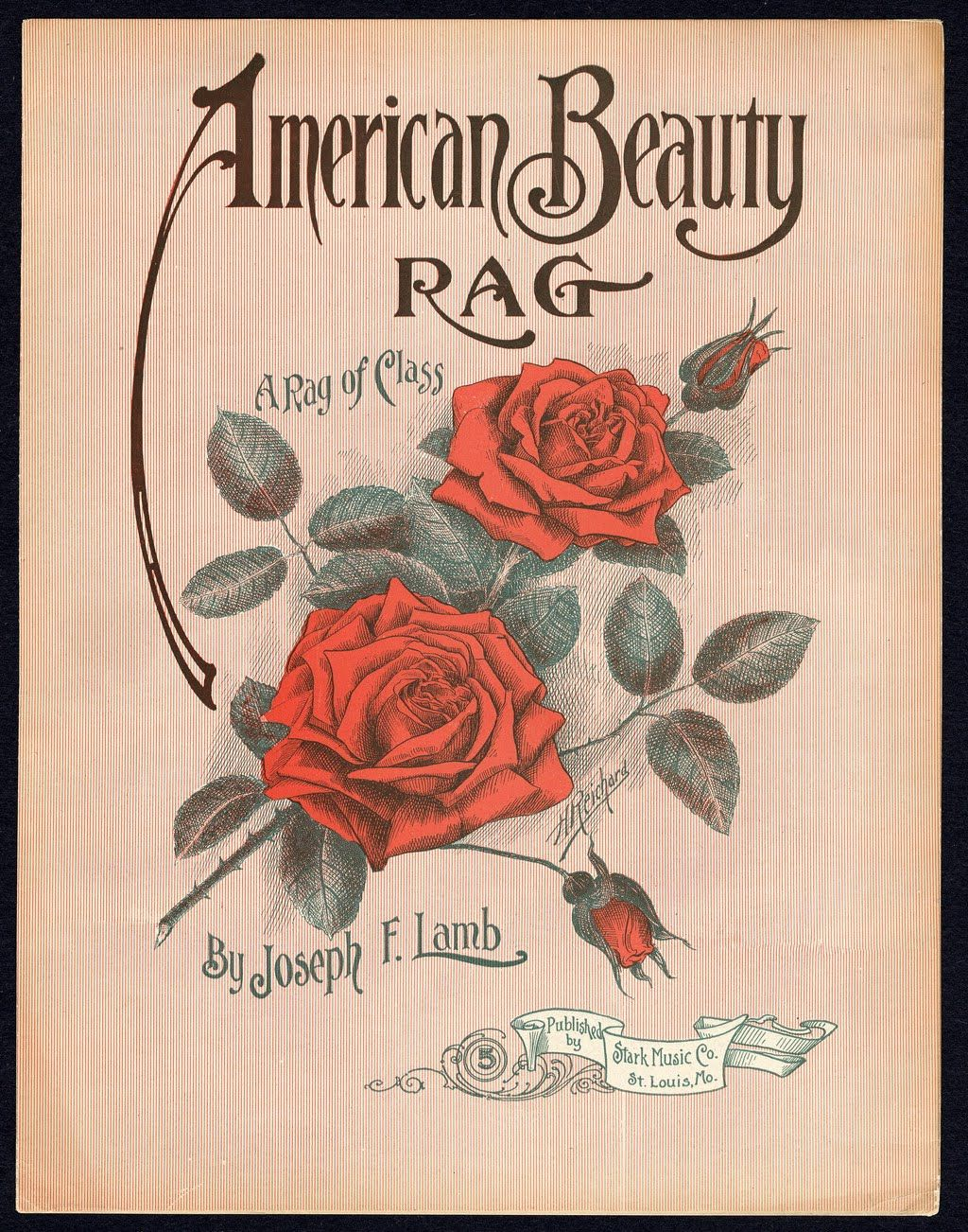 Vintage Ephemera- American Beauty