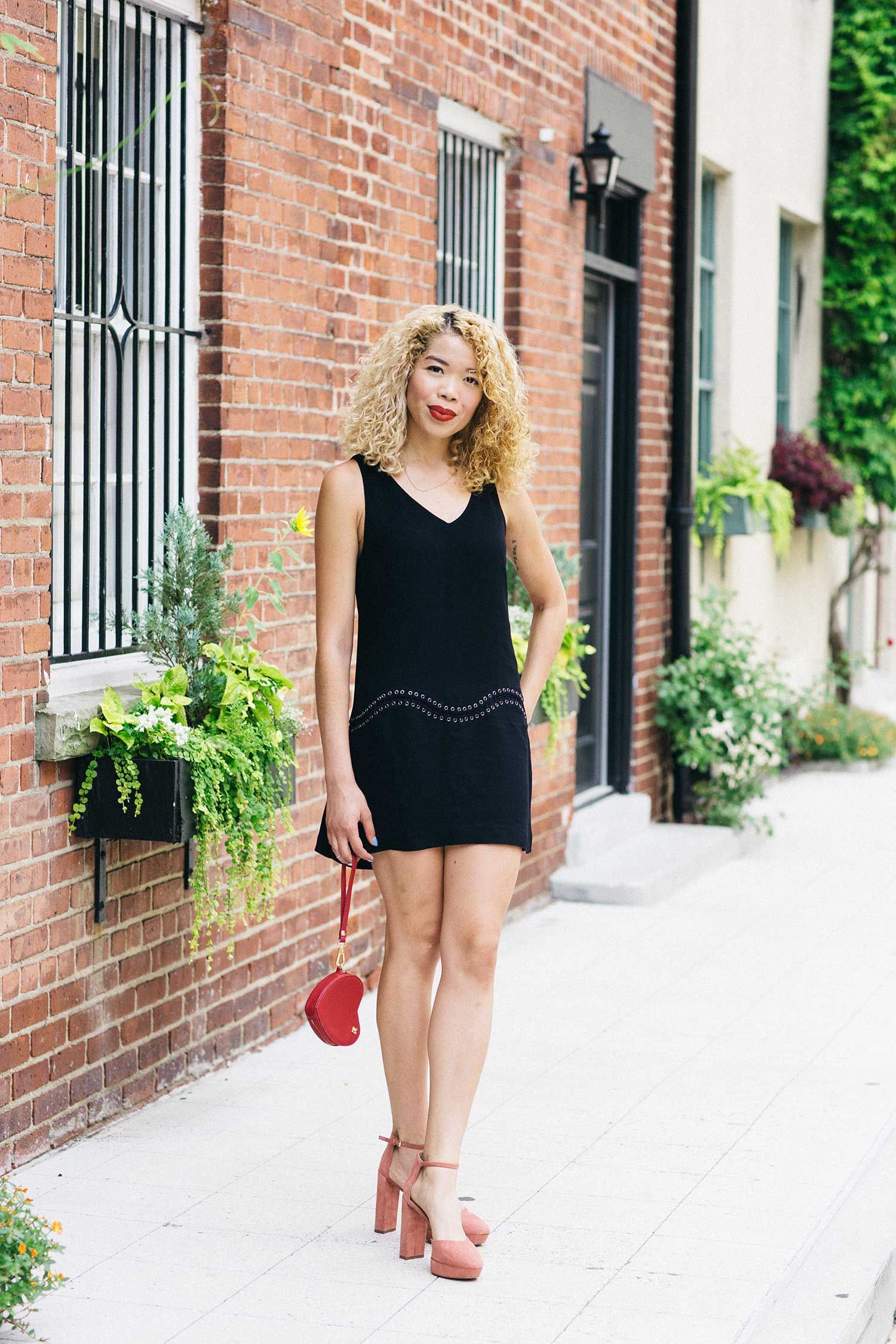 The Little Black Dress W Pink Suede Heels The Style Boro Little Black Dress Pink Suede Heels Dresses [ 2250 x 1500 Pixel ]