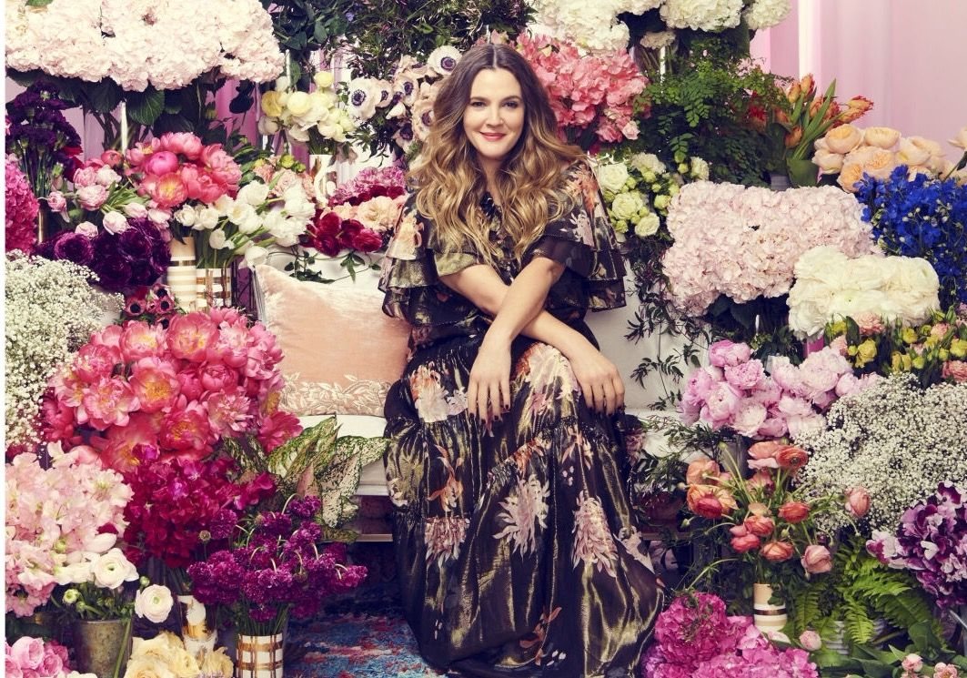 Drew barrymore on the may 2016 cover of good housekeeping in all drew barrymore on the may 2016 cover of good housekeeping in all flower beauty izmirmasajfo Images