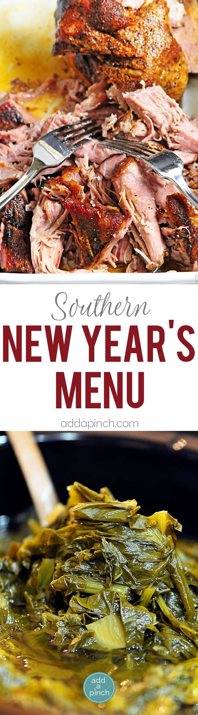 Southern New Year's Menu New year menu, New years day